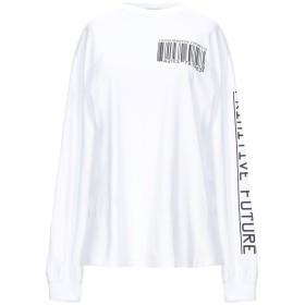 《期間限定セール開催中!》ARIES レディース T シャツ ホワイト S コットン 100%