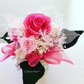 Pinkのバラ【プリザーブドフラワー】