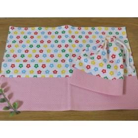 給食袋セット*お花モチーフ*ピンク