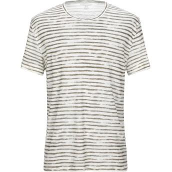 《セール開催中》MAJESTIC FILATURES メンズ T シャツ カーキ L 麻 100%