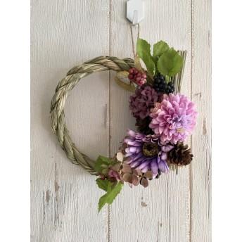 正月飾りミニシリーズ 薄紫