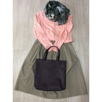フレブル君の手提げバッグ~ピンク