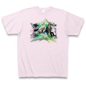 シンシソウ◆アート文字◆ロゴ◆ヘビーウェイト◆半袖◆Tシャツ◆ピーチ◆各サイズ選択可
