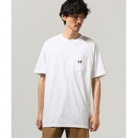 JOURNAL STANDARD LIXTICK Rushed Man ポケット Tシャツ by Stev ホワイト M