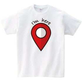 I'm here Tシャツ