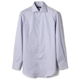 [マルイ] SD: レッド オルタネートストライプ ワイドカラー シャツ/シップス(メンズ)(SHIPS)