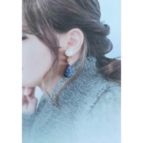【在庫のみ】雪の贈り物*耳飾り ピアス イヤリング 冬
