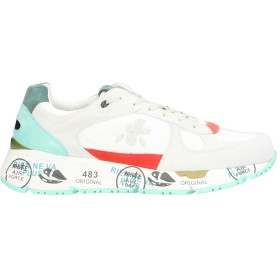 《期間限定セール開催中!》PREMIATA メンズ スニーカー&テニスシューズ(ローカット) ホワイト 40 革 / 紡績繊維