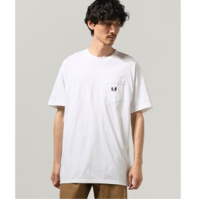 [マルイ] メンズTシャツ(LIXTICK Rushed Man ポケット Tシャツ by Stev)/ジャーナルスタンダード(メンズ)(JOURNAL STANDARD MEN'S)