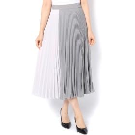 GALLARDAGALANTE(ガリャルダガランテ)/配色プリーツスカート