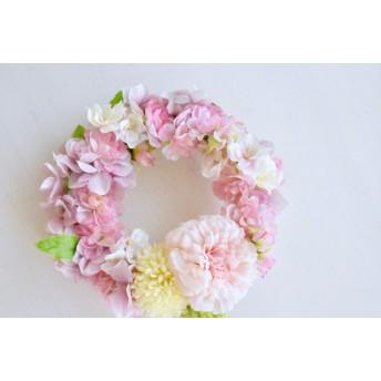 sakuraシリーズ 桜のふんわりリース