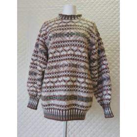 フェアアイル柄のセーター