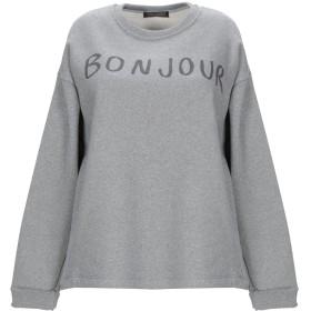 《セール開催中》ROMEO & JULIETA レディース スウェットシャツ グレー XS コットン 80% / ポリエステル 20%