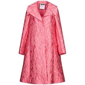 《セール開催中》MOSCHINO レディース ライトコート ピンク 40 ポリエステル 84% / シルク 10% / ナイロン 6%