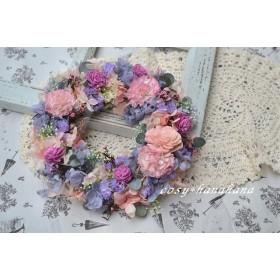 wreath「ミスティピンク」