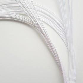 水引素材ー基本色(20本) 白雪色