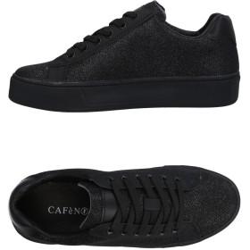 《セール開催中》CAFNOIR レディース スニーカー&テニスシューズ(ローカット) ブラック 35 紡績繊維