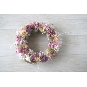 purplue Smoketree wreath