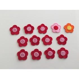 【訳あり商品】お花ワッペン 13枚セット きらりぼん