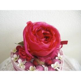 花ギフト・エンジバラでハートアレンジ・お誕生日・結婚・出産のお祝い・記念日・贈り物・ちょっとしたお礼などに。