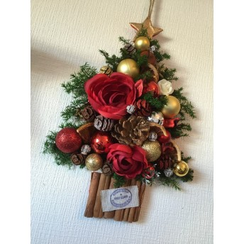 クリスマス 壁掛け 煌めくXmasツリー