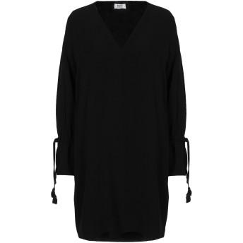 《セール開催中》KATE BY LALTRAMODA レディース ミニワンピース&ドレス ブラック 44 ポリエステル 97% / ポリウレタン 3%