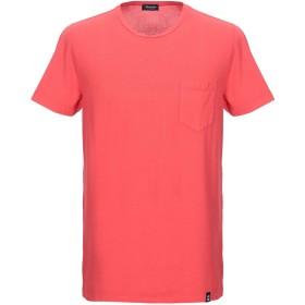 《セール開催中》DRUMOHR メンズ T シャツ レッド S コットン 100%