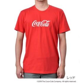 [マルイ]【セール】メンズ 「Coca-Cola(コカ・コーラ)」 ビッグロゴ クルーネック 半袖Tシャツ/コカ・コーラ (メンズ)(Coca Cola)