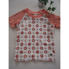 ラグラン半袖Tシャツ 100