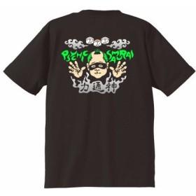 Tシャツ ブラック 6.2oz(おさむらいちゃん)