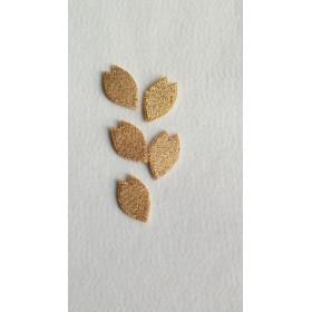 桜の花びら 金 5枚セット