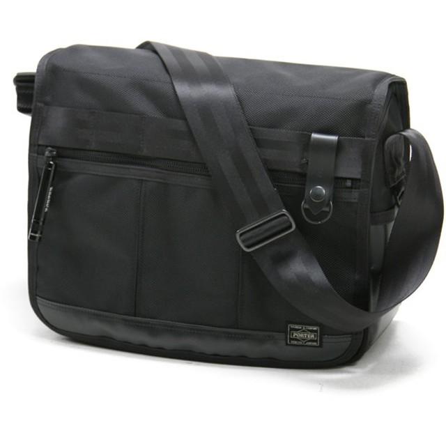 カバンのセレクション 吉田カバン ポーター ヒート ショルダーバッグ メンズ レディース ブランド A4 PORTER 703 06973 ユニセックス ブラック フリー 【Bag & Luggage SELECTION】