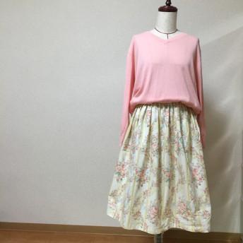 《kai's》日本製 ロマンチックなギャザースカート