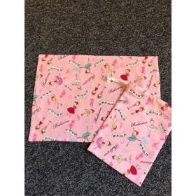 バレリーナのランチマット巾着セット 送料無料