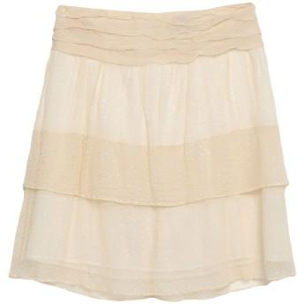 《セール開催中》ASPESI レディース ひざ丈スカート ベージュ 42 コットン 100%