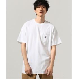 [マルイ] メンズTシャツ(LIXTICK Crazy Visitors ポケット Tシャツ by St)/ジャーナルスタンダード(メンズ)(JOURNAL STANDARD MEN'S)