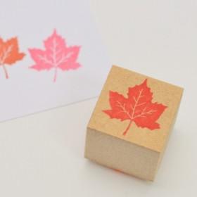 メープルハンコ 秋の紅葉 楓スタンプ