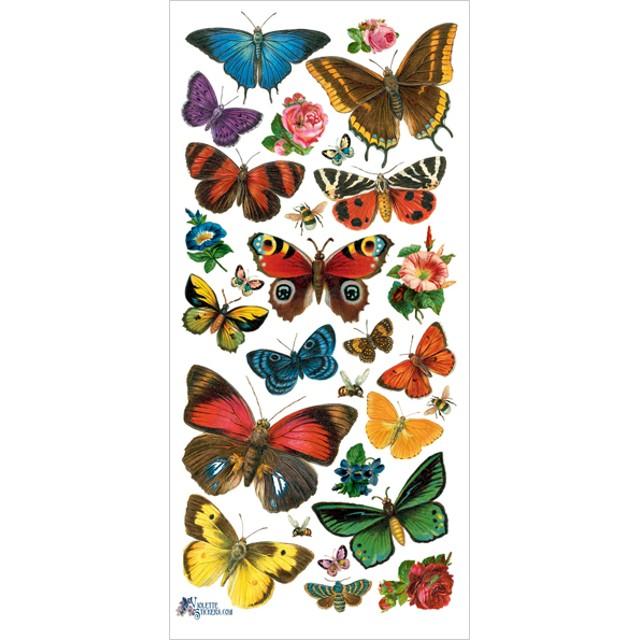 USAヴィクトリアンシール 森の蝶たち DA-VS044