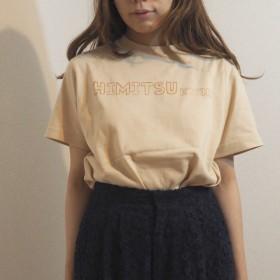【送料無料】ひみつきち Tシャツ HIMITSUベージュ