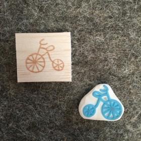 シンプルな自転車