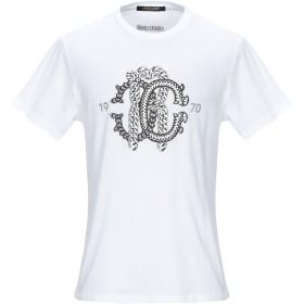 《セール開催中》ROBERTO CAVALLI メンズ T シャツ ホワイト XS コットン 100%