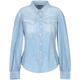 《セール開催中》HIGH by CLAIRE CAMPBELL レディース デニムシャツ ブルー 40 コットン 100%