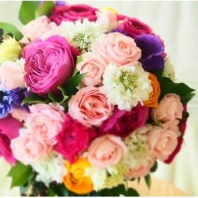 Wedding Bouquet set -Multicoloured-
