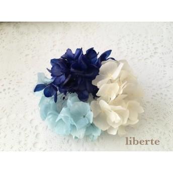 お得な紫陽花3色セット(ブルー系)