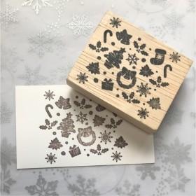 クリスマススタンプ【28】 ️スタンプ*はんこ