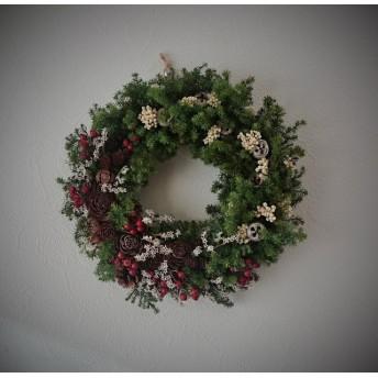 森からの贈り物24㎝(クリスマスリース)