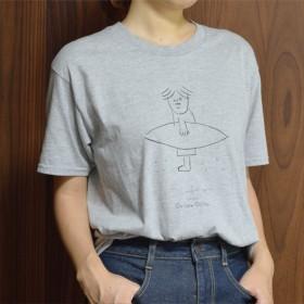 アウトローおじさんTシャツ サーフィンver.