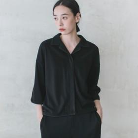 焼入れ_硬化プリーツシャツ_9AF050_Black
