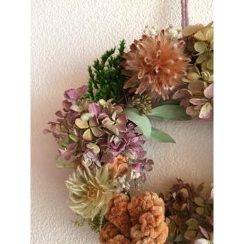 秋色水無月 wreathe