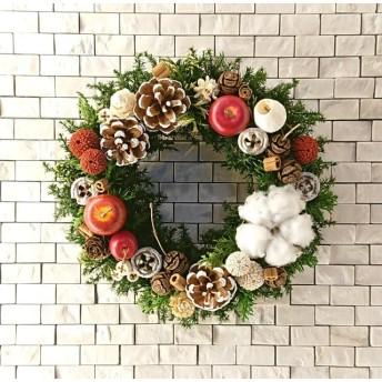 christmas wreath(21cm)